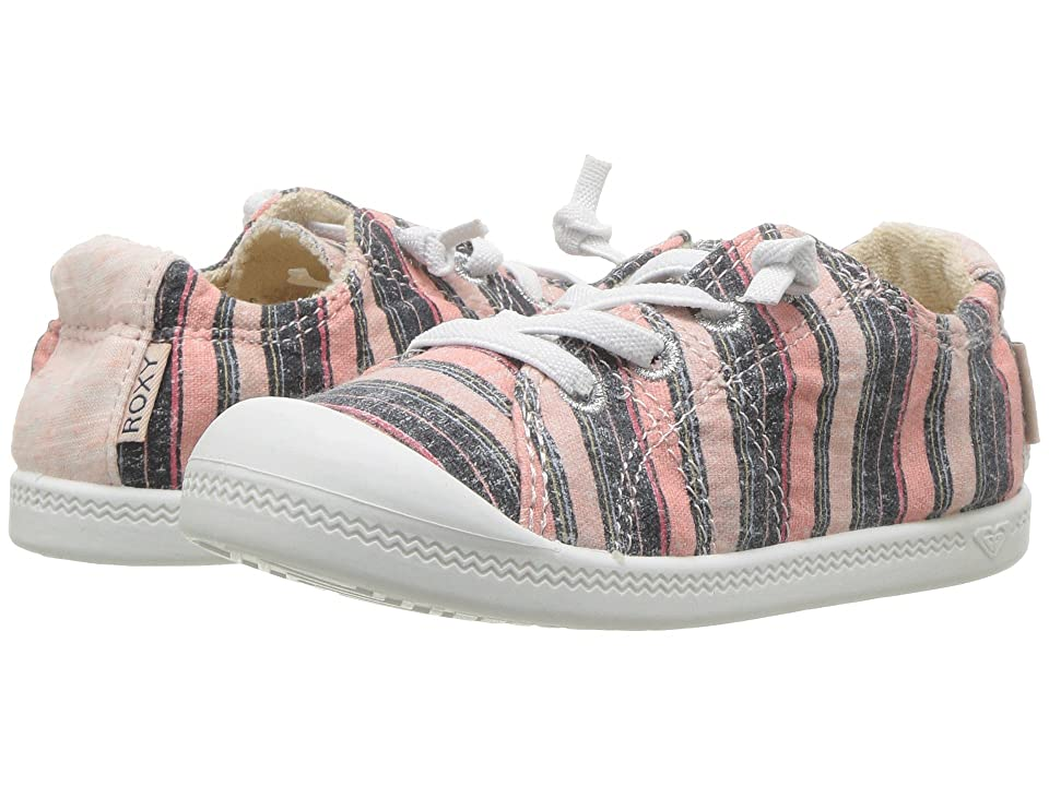Roxy Kids TW Bayshore (Toddler) (Pink Stripe) Girl