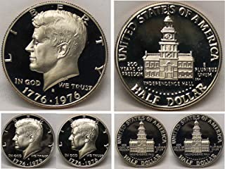 1976-S - GEM CLAD PROOF - KENNEDY HALF DOLLAR