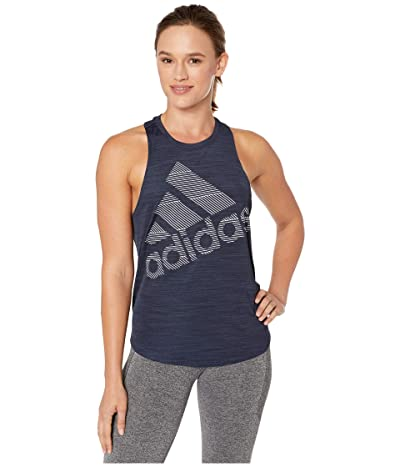 adidas Badge of Sport Logo Tank Top (Legend Ink) Women