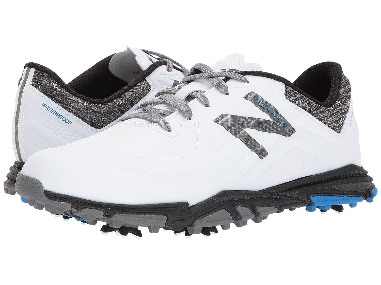 (ニューバランス) New Balance メンズゴルフシューズ?靴 NBG1007 Minimus Tour White/Black 7 (25cm) D - Medium