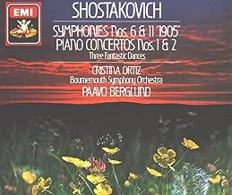 Dmitri Shostakovich Symphonies 6 + 11, Three Fantastic Dances for piano op 5, Concerto for piano trumpet and strings op 35, Piano Concerto No 2 op 102 EMI
