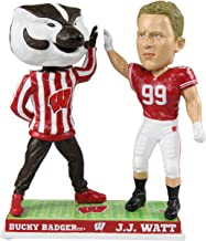 Forever Collectibles J.J. Watt Wisconsin Badgers Special Edition High Fiving Bobblehead NCAA