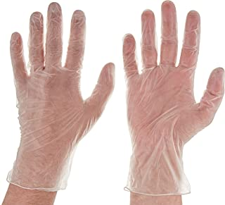 InTouch Powder Free Vinyl Gloves, Large