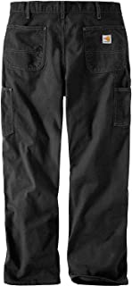 Carhartt Men's Flame Resistant Washed Duck Work Dungaree