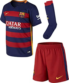 Nike 2015/16 Little Boys FC Barcelona Home Kit (Loyal Blue)