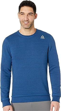 Elements Marble Melange Crew Sweatshirt