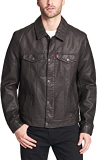 Best men's levi's classic faux leather trucker jacket Reviews