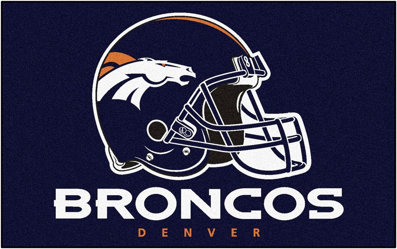 FANMATS NFL Denver Broncos Nylon Face Ultimat Rug