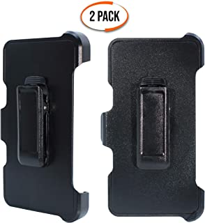 """WallSkiN Turtle Series Replacement Belt Clip Holster """"Compatible with OtterBox Defender Series Case"""" Hands-Free Kickstand for Apple iPhone 6 / iPhone 6S / iPhone 7 / iPhone 8 (4.7"""