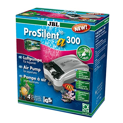 JBL ProSilent a300 - Pompe à air pour aquarium d'eau douce ou d'eau de mer de 100 à 400 litres