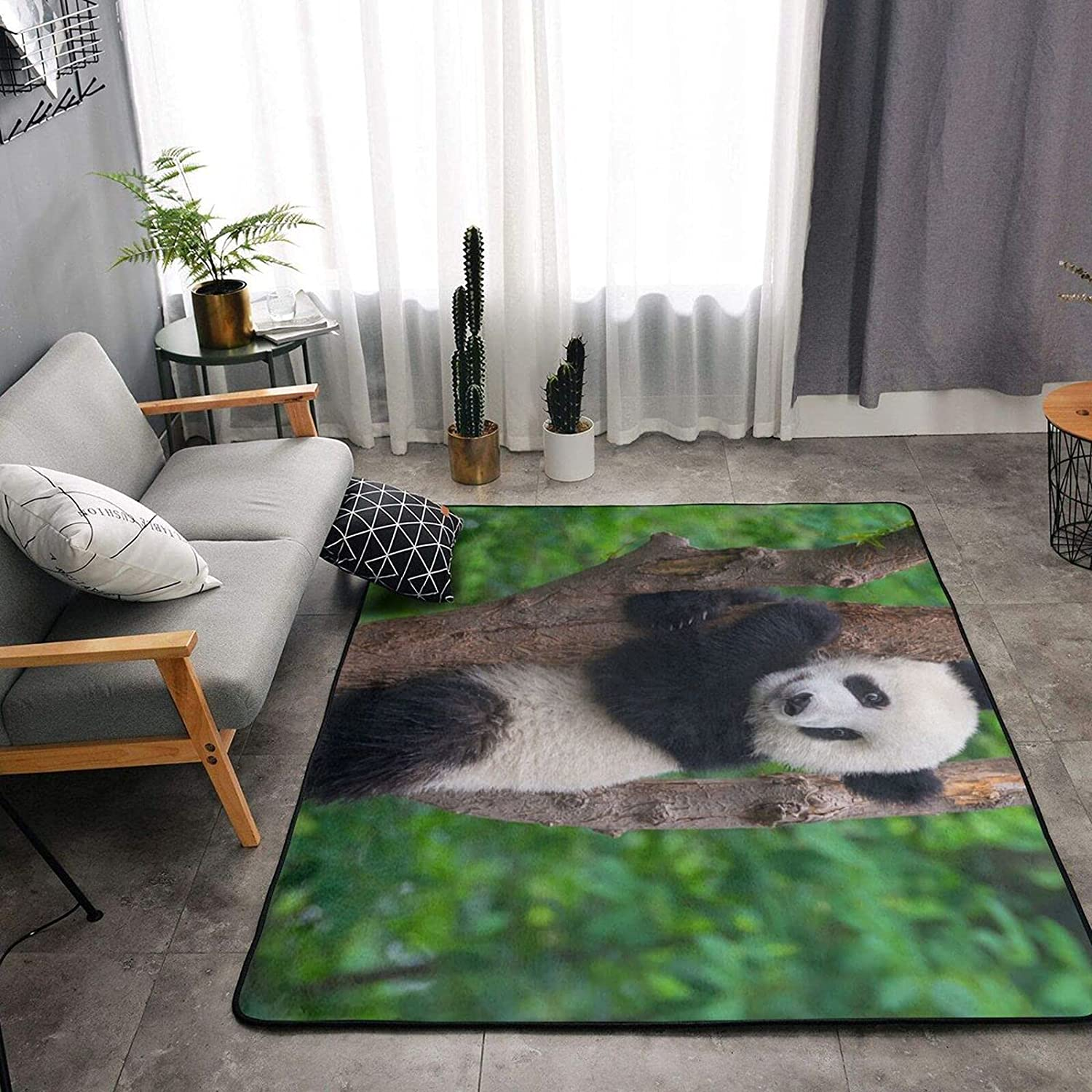 Cute Inventory cleanup selling Louisville-Jefferson County Mall sale Panda On The Tree Soft Area Room Bedroom for Rugs Living S