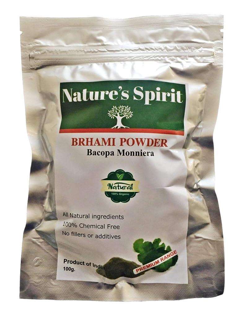葉重要性必要ないBrahmiパウダー100%天然ケミカルフリー100gヘアーボディスカルプシャインシャイン