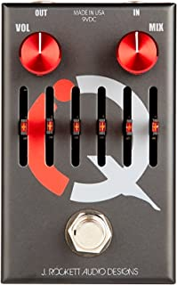 J. Rockett Audio Designs Q Series I.Q. Compressor and 6-Band EQ Guitar Effects Pedal
