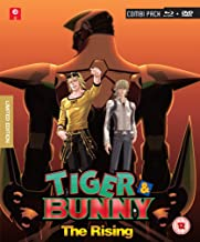 Tiger & Bunny - The Rising: Collector's Edition Combi Pack [Blu-ray] [Reino Unido]