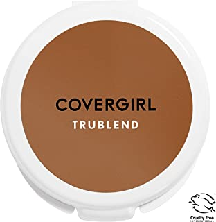 COVERGIRL truBlend Pressed Blendable Powder, Translucent Sable .39 oz (11 g) (Packaging may vary)