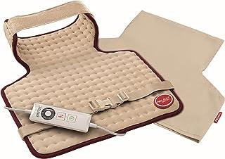 Imetec Relaxy Intellisense CHP 02 - Almohadilla Térmica Cervical, Espalda y Hombros, Mando Digital de 5 Temperaturas, Tejido de Microfibra Lavable, Antialérgica y Transpirable, Tamaño XXL, 52 x 38 cm
