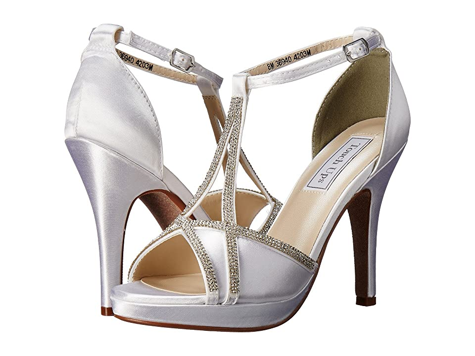 Touch Ups Harlow (White Satin) Women