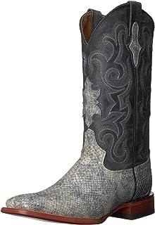 حذاء فيرني الرجالي ذو الرقبة الغربية المطبوع على شكل حرف S
