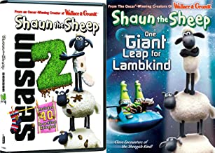 Shaun the Sheep Bundle: Shaun the Sheep Complete Season 2 & Shaun the Sheep: One Giant Leap for Lambkind