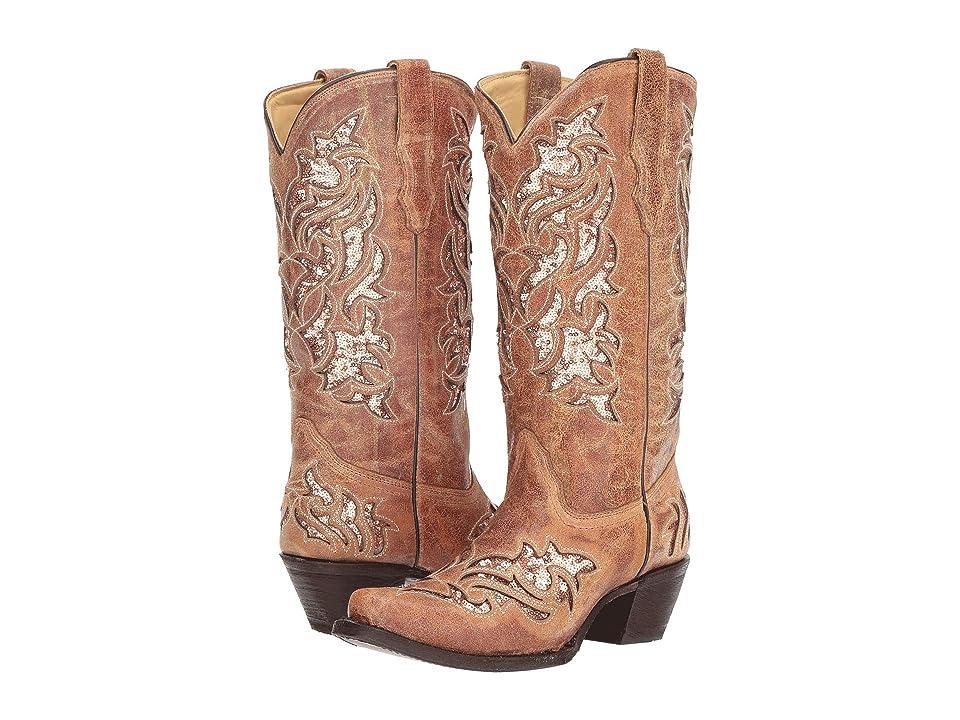 Corral Boots A3578 (Cognac) Cowboy Boots