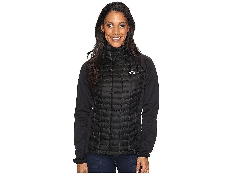 The North Face ThermoBall Hybrid Full Zip (TNF Black (Prior Season)) Women