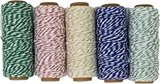 Baker's Twine Metallic Set with Woven-in Gold Filament, 250 Yards Total