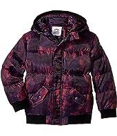Appaman Kids - Down Filled Knit Detail Puffy Coat (Toddler/Little Kids/Big Kids)