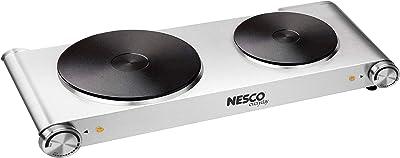 Nesco DB-02 food warmer, Silver