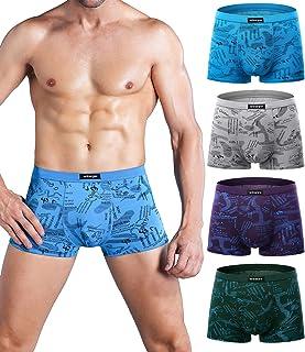 wirarpa Mens Mirco Modal Underwear Trunks Soft Boxer Shorts Gents Microfibre Underpants Multipack