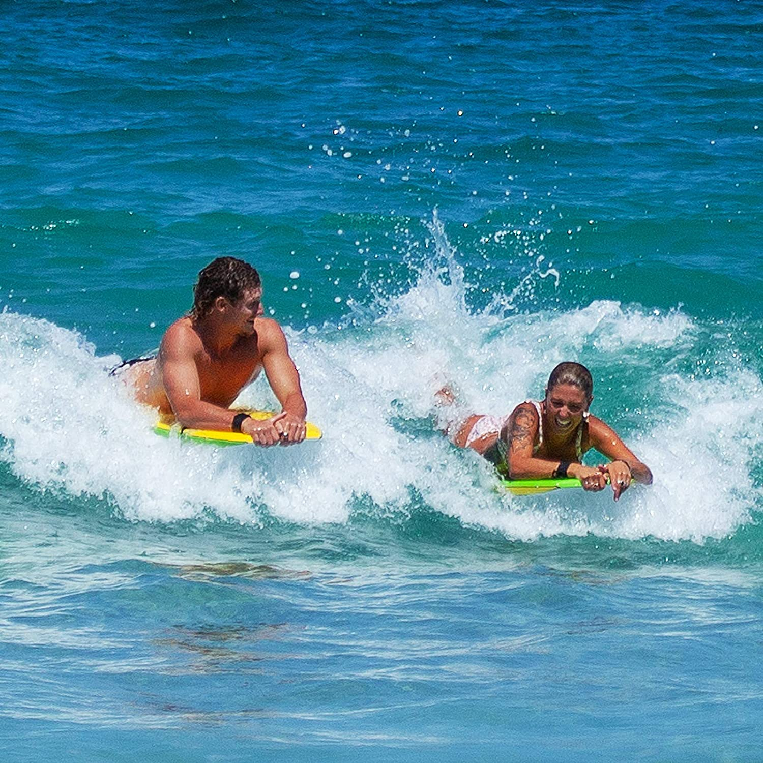 Solid Universal Imperium Loggerhead Body Board a Great Boogie Board for Fun at The Beach Lightweight Construction Suitable for Adults and Kids