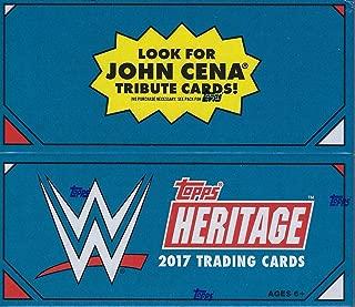2017 Topps WWE Heritage Wrestling RETAIL box (24 pk)