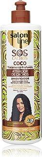 Ativador Cachos 500 ml SOS Coco Unit, Salon Line