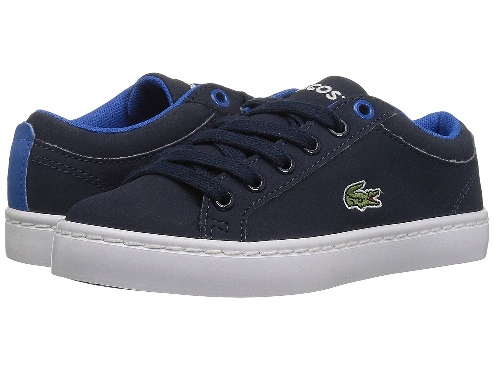 Lacoste Kids Straightset Lace 417 1 (Little Kid)Cheap and distinctive eye-catching shoes
