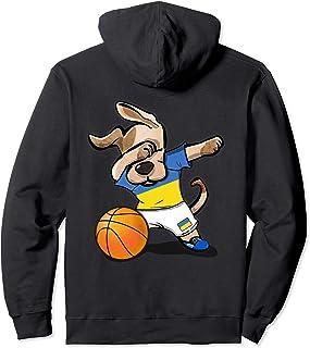 Dab Dog Basketball Ukraine Jersey Ukrainian Team Shirt