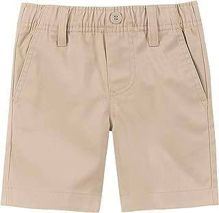 Boys' School Uniform Flat Front Twill Short