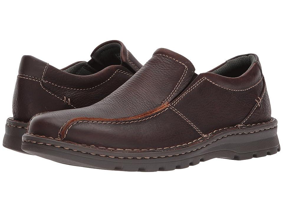 Clarks Vanek Step (Brown Oily Leather) Men
