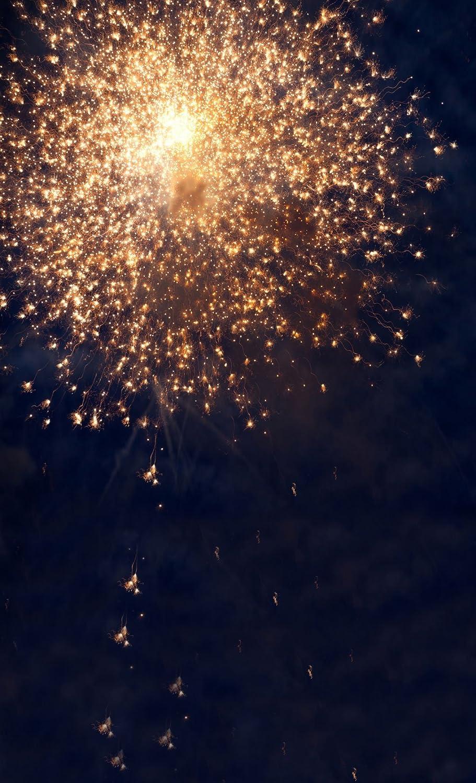 DODOING 3x5ft Celebration Houston Mall Fireworks Scene Photography Night New product type Back