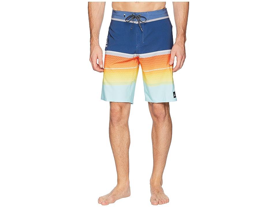 Quiksilver Highline Slab 20 Boardshorts (Bijou Blue) Men