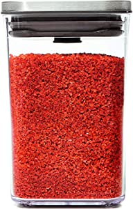 OXO Steel POP Container Small Square Short (1.1 Qt/1 L)