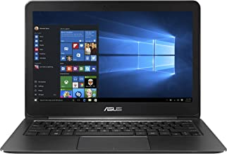"ASUS ZenBook UX305CA-EHM1 Laptop (Windows 10, Intel Core M3-6Y30, 13.3"" LED-lit Screen, Storage: 256 GB, RAM: 8 GB) Obsidi..."