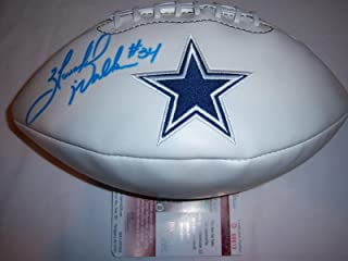 Herschel Walker Signed Ball - Logo - JSA Certified - Autographed Footballs