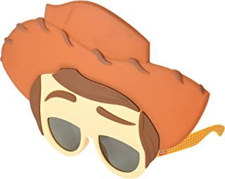 Costume Sunglasses Toy Story Woody Sun-Staches Party Favors UV400