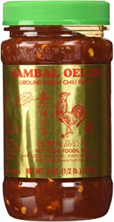 Huey Fong Sambal Oelek Chili Paste 8 Oz