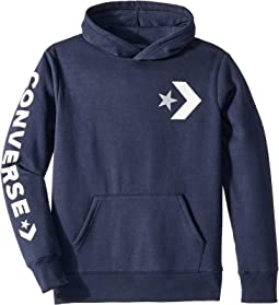 Star Chevron Graphic Pullover Hoodie (Big Kids)