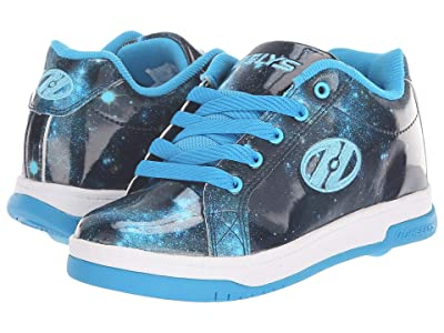 Heelys Split (Little Kid/Big Kid/Adult) (Blue/Galaxy) Girl