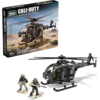 Amazon Com Mega Construx Call Of Duty Special Ops Copter Toys Games