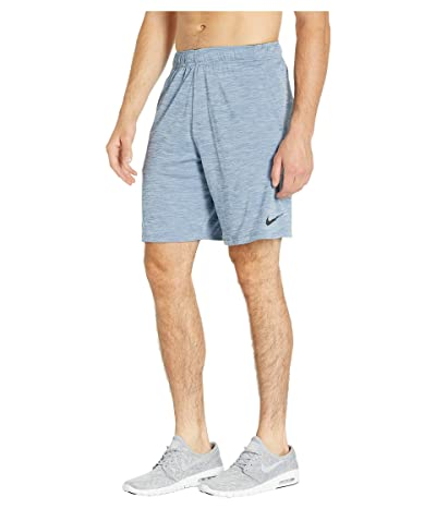 Nike Dri-FIT Heathered 9 Training Short (Ocean Fog/Black) Men