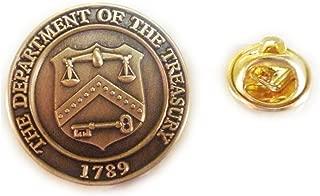 Department of the Treasury IRS Seal Lapel Pin