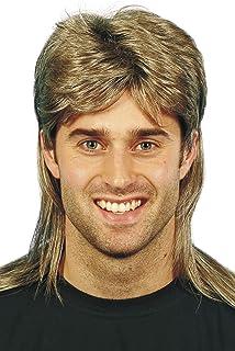 Smiffys Men's Mullet Wig Highlights