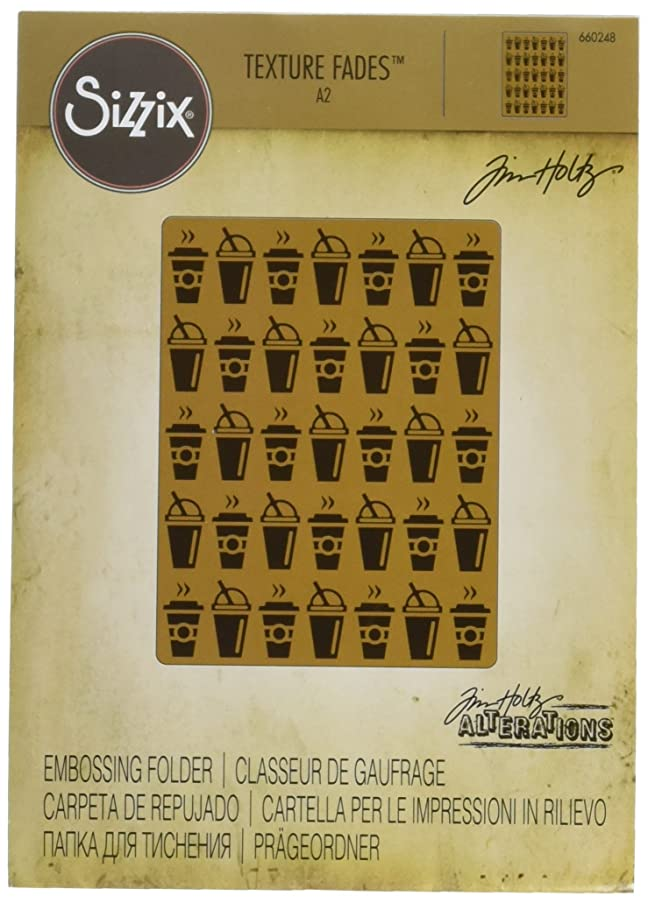 Sizzix 660248 Texture Fades Embossing Folder On the Go by Tim Holtz
